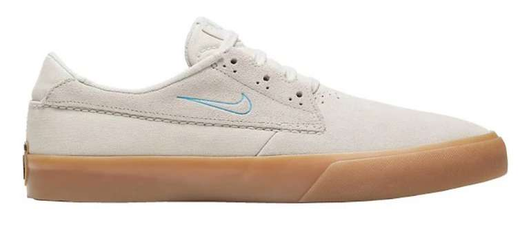 Nike SB Shane Skateboardschuh in weiß-braun für 42,33€inkl. Versand (statt 75€) - Nike Membership