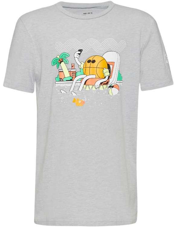 Under Armour Mr. Buckets Jungen T-Shirt in Grau für 13,94€inkl. Versand (statt 18€)