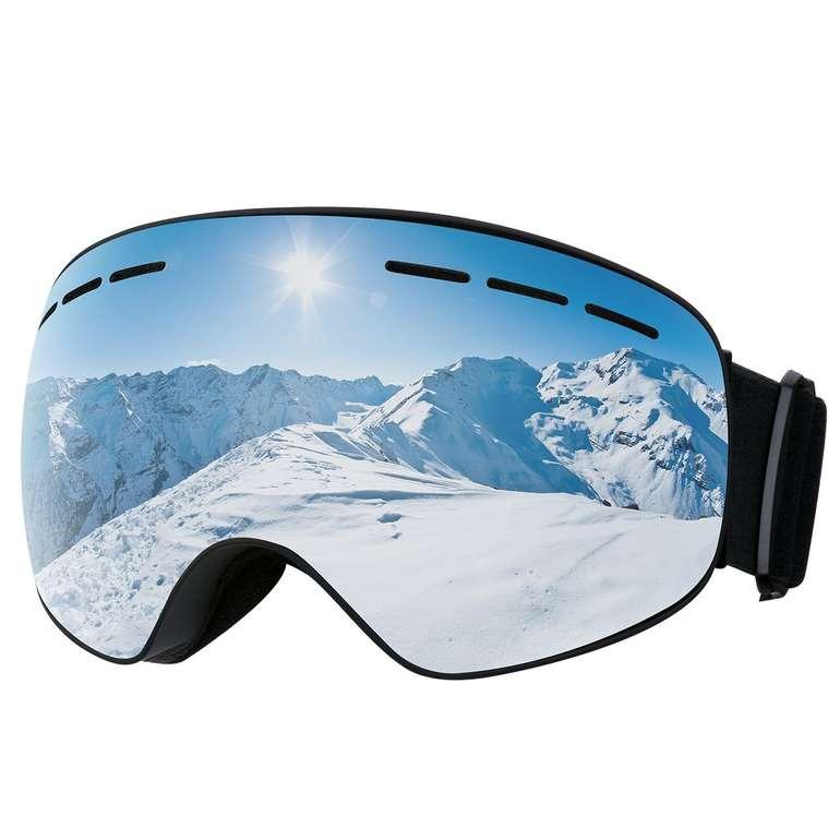Omorc Skibrille mit UV-Schutz & Antibeschlag in 2 Farben für je 7,99€ inkl. Prime Versand (statt 18€)