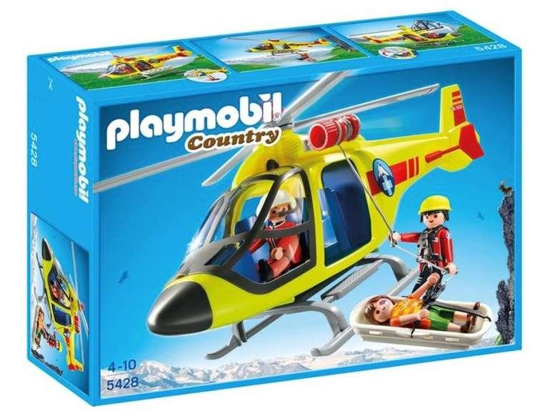 Playmobil Country - Helikopter der Bergrettung (5428) für 20,94€ inkl. Versand (statt 30€)
