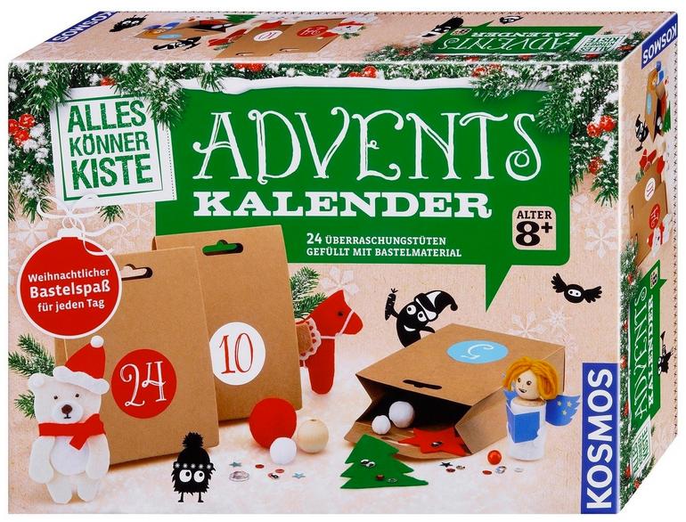 Kosmos Bastel-Adventskalender 2018 Alles-Könner-Kiste für 12,99€ inkl. Versand