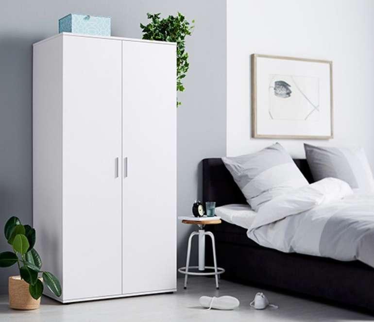 Tchibo Möbel Sale mit 10% Extra Rabatt + VSKfrei - z.B. 2-türiger Kleiderschrank für 161,10€ (statt 179€)