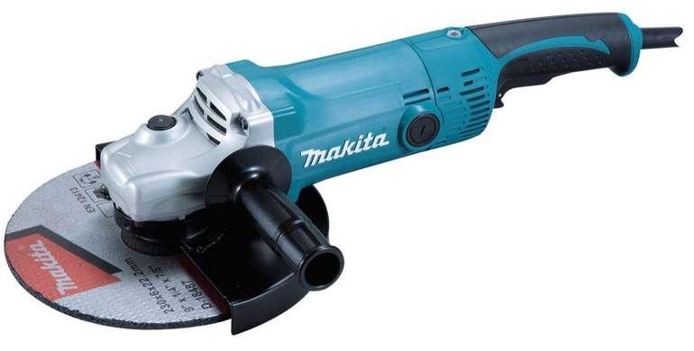 Makita GA9050R Winkelschleifer 230 mm, 2.000W Solo für 72€ (statt 82€)