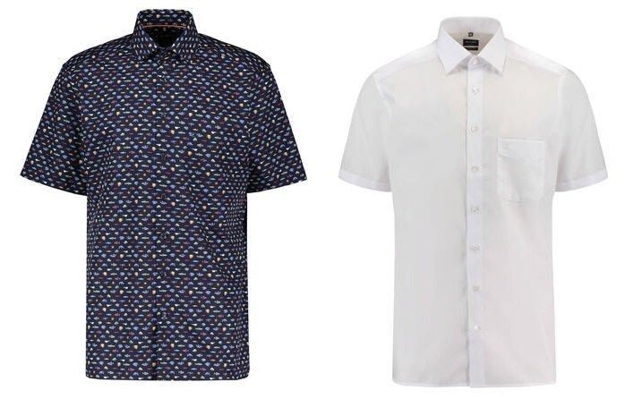 Olymp Luxor Modern Fit Kurzarm Hemden für je 27,21€ (statt 40€)