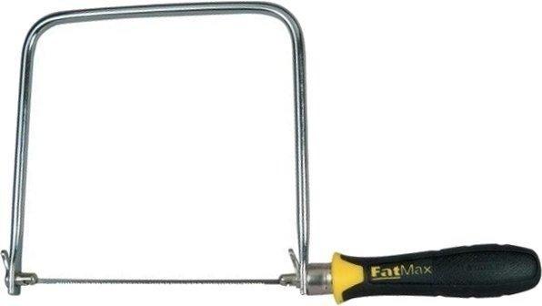 Stanley FatMax Dekupiersäge (160 mm Länge, ergonomischer Handgriff) für 7,68€ inkl. Prime Versand (statt 12€)