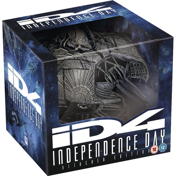 Independence Day - Alien Attacker Edition (2 Blu-rays + UV Copy) für 34,79€