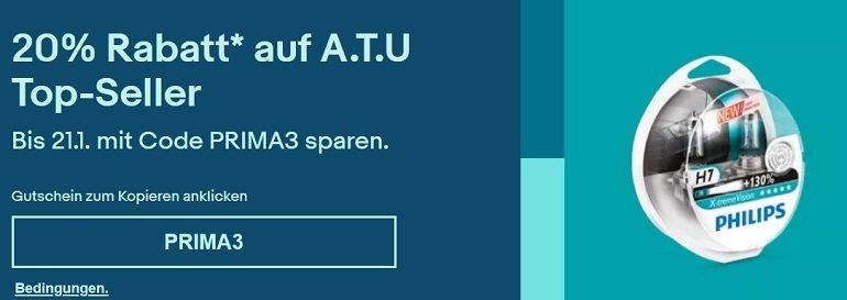 Ebay A.T.U Rabatt