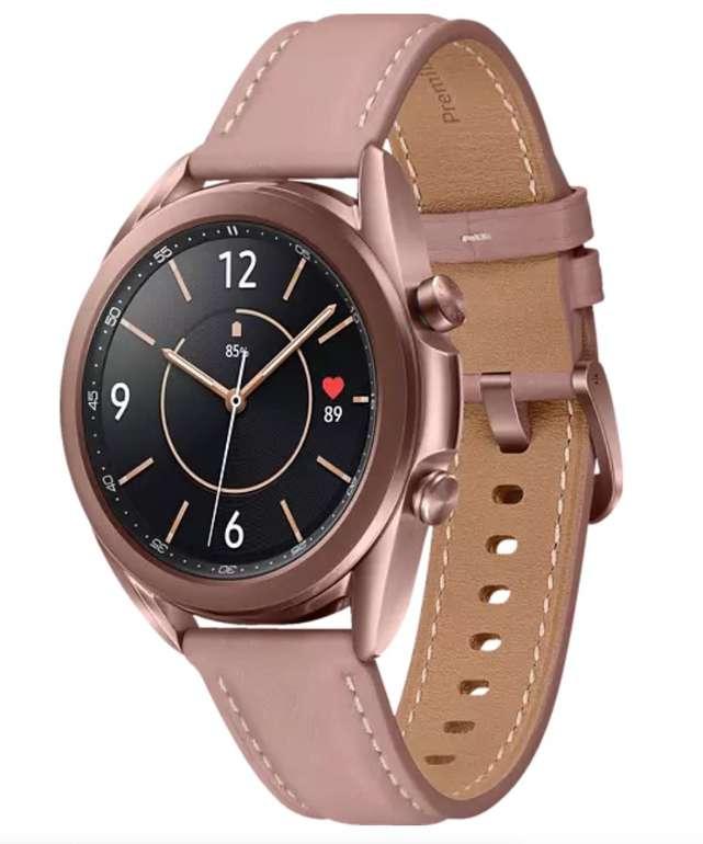 Samsung Galaxy Watch 3 (41 mm, Edelstahl, Echtleder, Mystic Bronze/Pink) für 189€ inkl. Versand (statt 249€) - Newsletter!