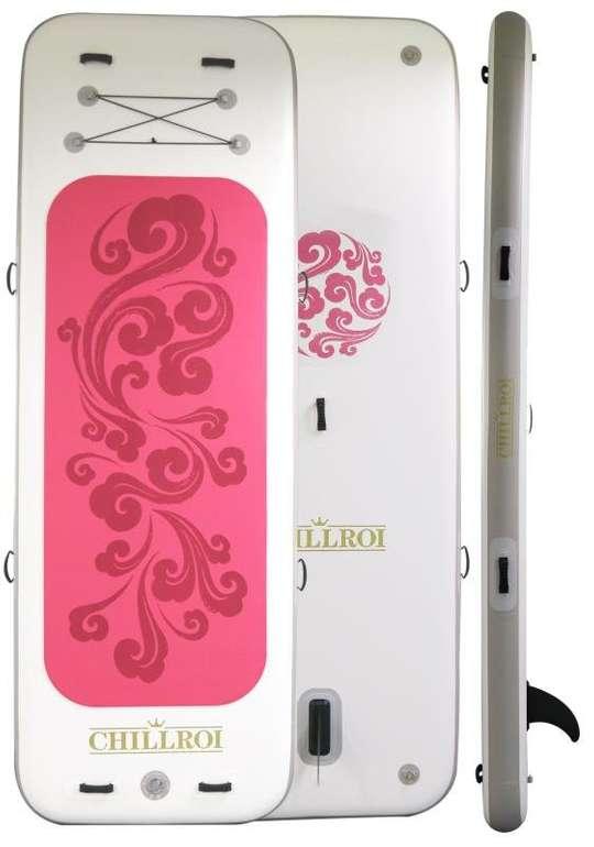 Chillroi Yoga Stand-Up-Paddle Board in Pink oder Blau für je 179,25€ (statt 249€)