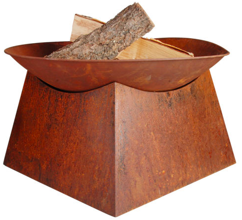 Design Feuerstelle Pueblo Firebowl in Rostoptik für 34,95€ inkl. Versand