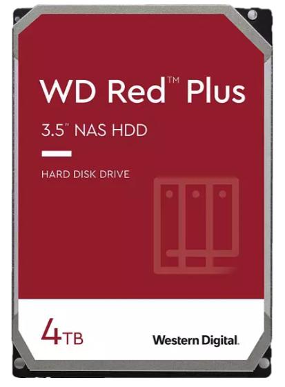 WD Red™ Plus NAS-Festplatte mit 4 TB (HDD, 3,5 Zoll, intern) für 90,09€ inkl. Versand (statt 100€) - Newsletter!