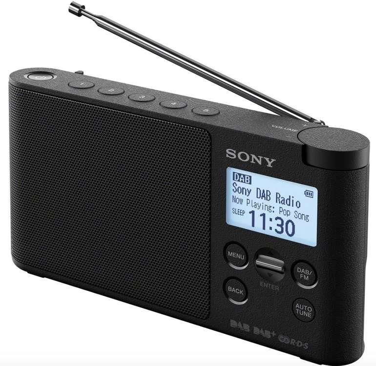 Sony XDR-S41 - Portables Radio in schwarz für 54,98€ inkl. Versand (statt 65€)