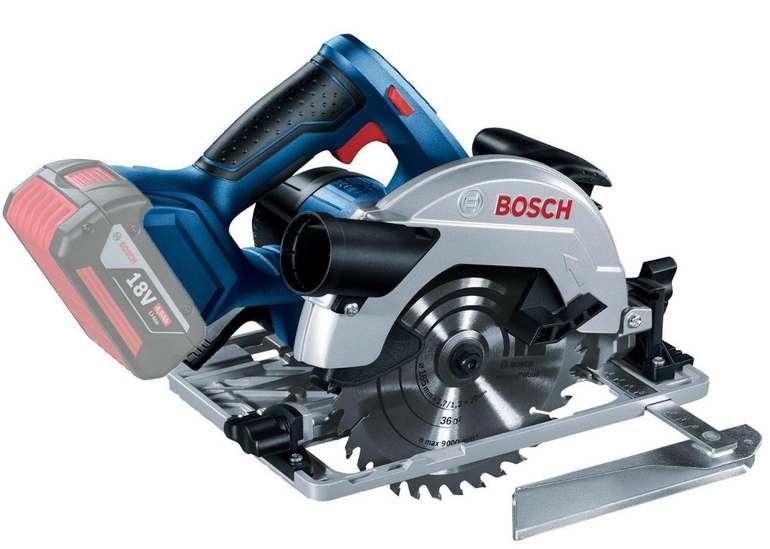 "Bosch Akku-Kreissäge ""GKS 18V-57 G"" Solo (ohne Akkus & Ladegerät) für 119€ inkl. Versand (statt 139€)"