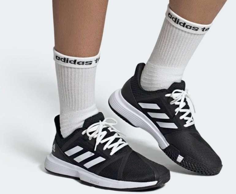 Adidas CourtJam Bounce Herren Sneaker für 44,70€ inkl. Versand (statt 58€)