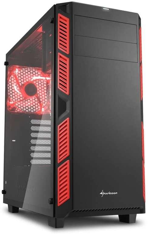 Sharkoon AI7000 Glass PC-Gehäuse in verschiedenen Farben für 56,89€ inkl. Versand (statt 78€)