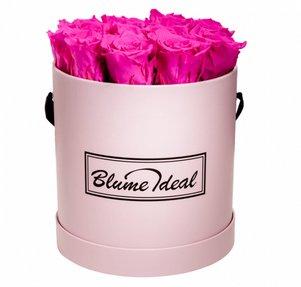 Rosenbox mit 12-14 Infinity Rosen (bis zu 3 Jahre haltbar) für 94,98€