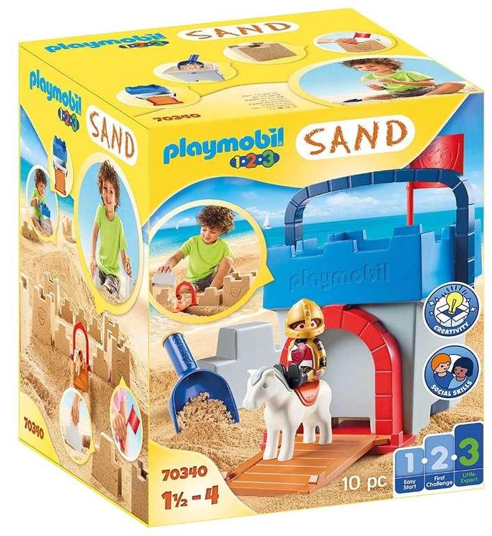"Playmobil Konstruktions-Spielset ""Kreativset Sandburg"" (70340) ab 9,99€ (statt 16€)"