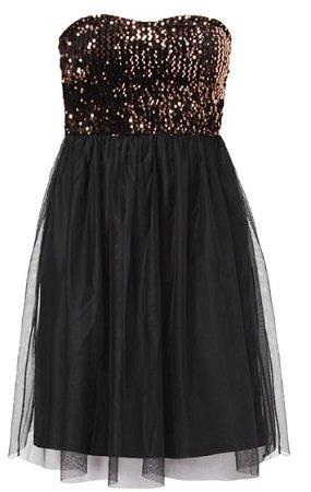 Only Kleid mit Pailletten-Besatz für 9,99€ inkl. VSK