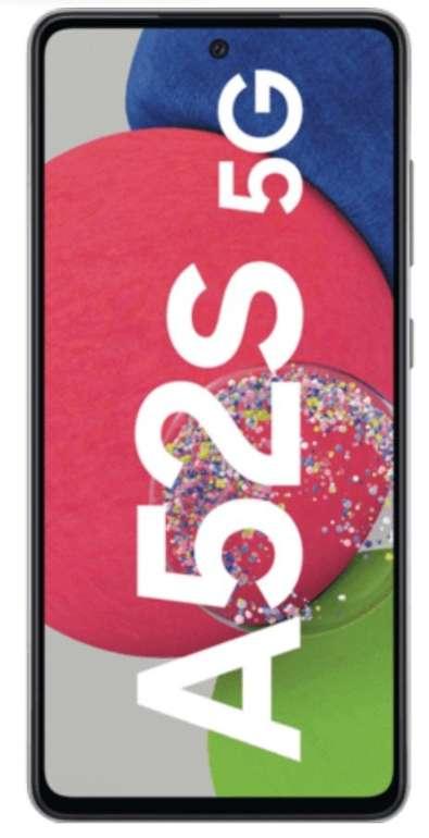 Samsung Galaxy A52s 5G mit 6GB RAM & 128GB Speicher (19€) + o2 SuperSelect M Allnet/SMS Flat mit 8GB LTE für 17,99€ mtl.