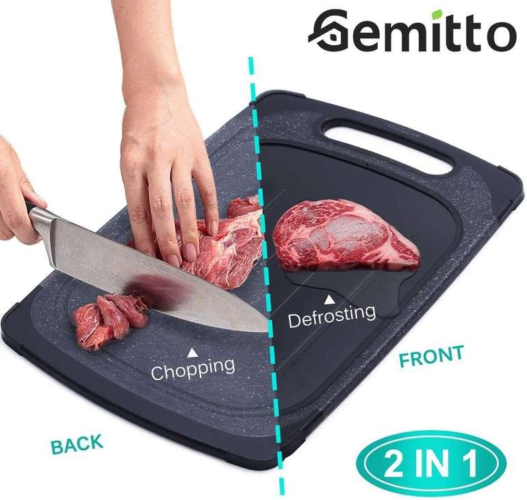 Gemitto 2-in-1 Schneidebrett & Auftauplatte für 19,59€ inkl. Prime Versand (statt 28€)