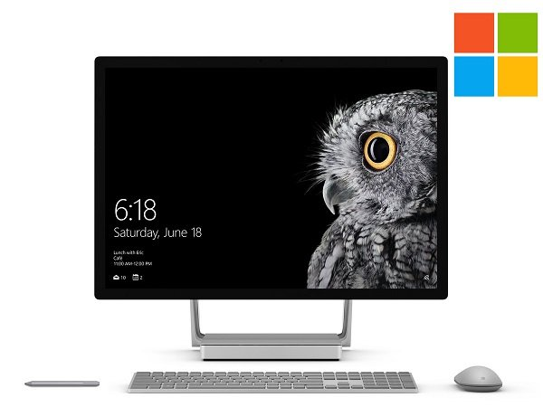 Microsoft Surface Studio All-in-One-PC mit i5, 8GB RAM + 64GB SSD für 1.508,90€
