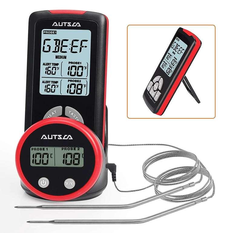 Autsca Funk Bratenthermometer mit LCD Display für 9,99€ inkl. Prime Versand