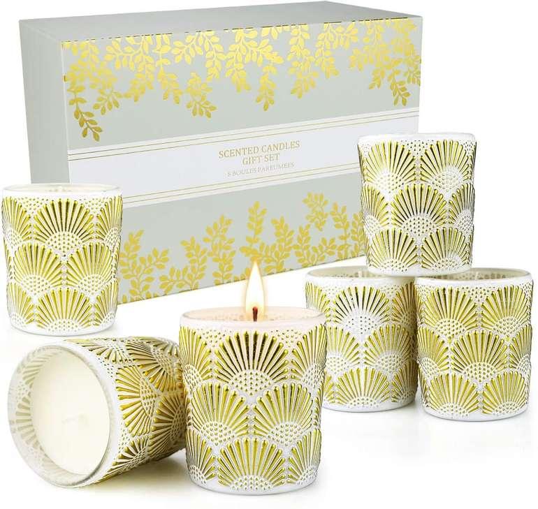 Creashine Aroma Kerzen Geschenkset für 14,99€ inkl. Prime Versand (statt 20€)