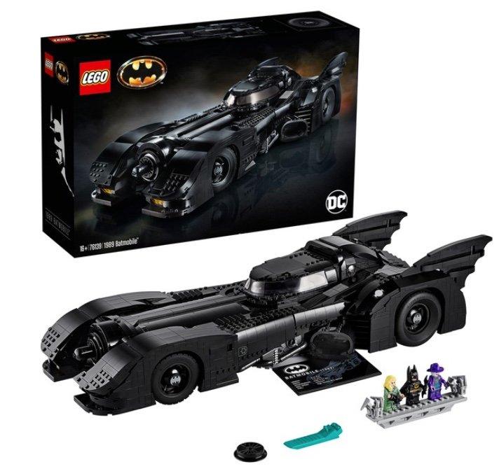 Lego (76139) DC Super Heroes - 1989 Batmobile für 203,99€ inkl. Versand (statt 225€)