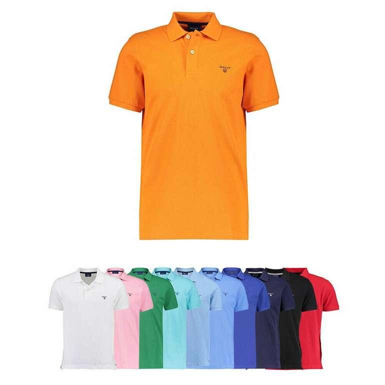 """Gant Poloshirt """"The Summer Pique"""" (versch. Farben) für je 31,70€ inkl. Versand (statt 41€)"""