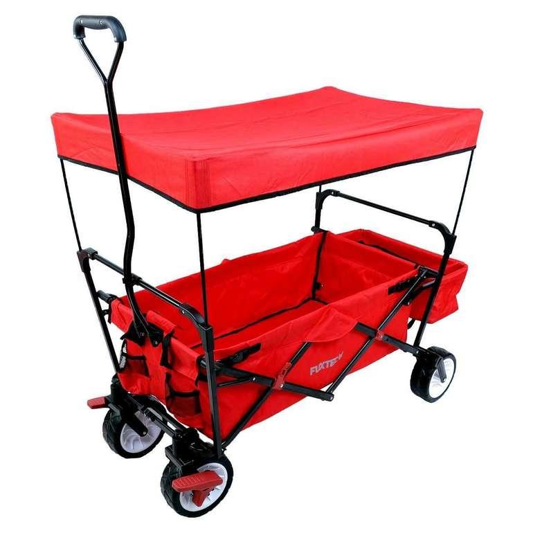 Fuxtec CT350 Bollerwagen (Rot) für je 77,77€ inkl. Versand (statt 119€)