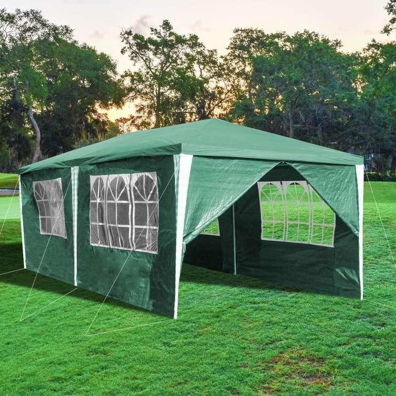 Einfeben Pavillon verschiedene Ausführungen reduziert, z. B. Grün 3 x 6m für 41,79€ inkl. Prime Versand (statt 76€)
