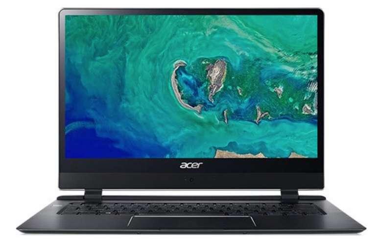 Acer Swift 7 SF714-51T - Ultraschlankes Touch Notebook mit 4G LTE für 899€ (statt 999€)