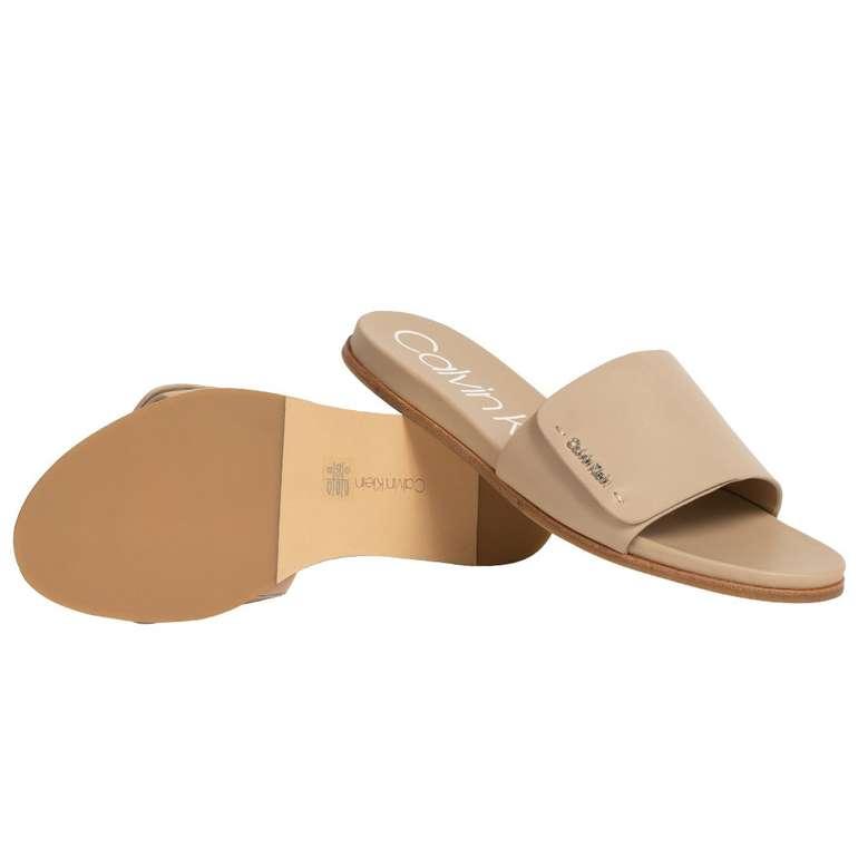 """Calvin Klein Norina Damen Slippers """"N12104SND"""" für 43,94€ inkl. Versand (statt 68€)"""