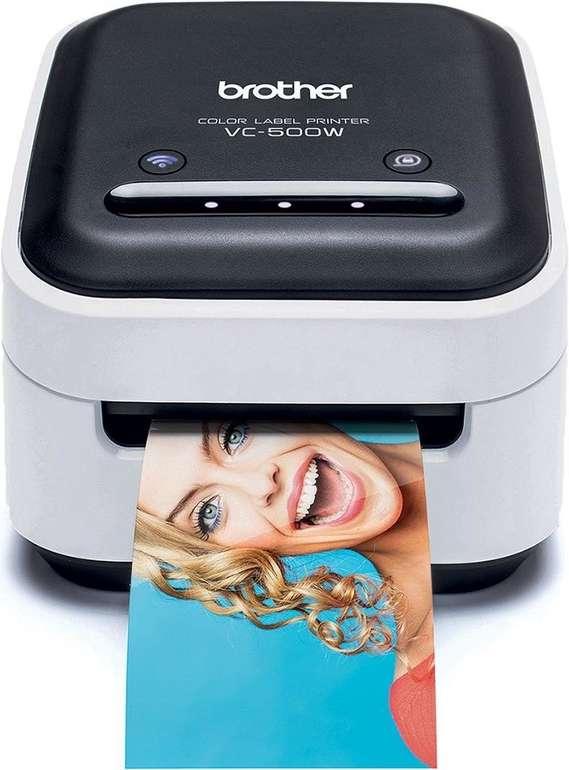 Brother VC-500W Vollfarb-Etikettendrucker mit WLAN & AirPrint für 99,99€ (statt 118€)