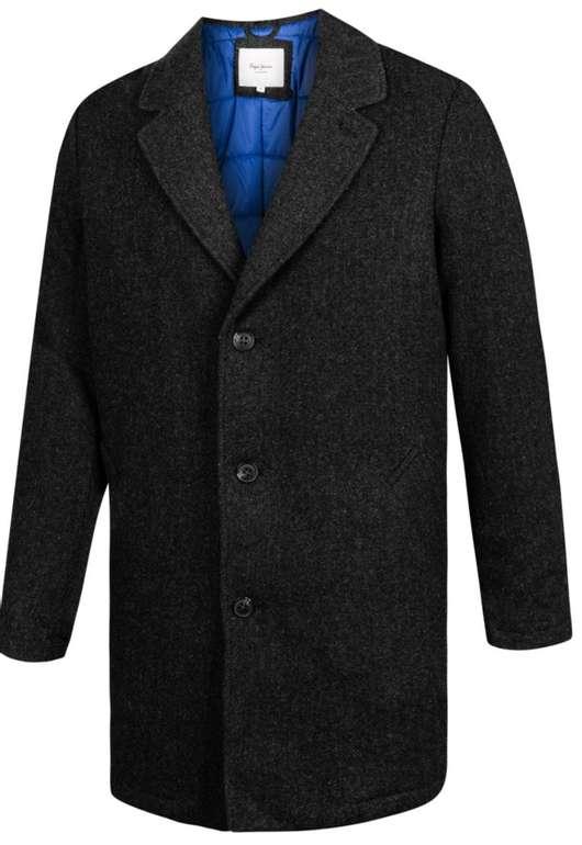Pepe Jeans Heavy Herren Stoff Mantel für 48,94€ inkl. Versand (statt 100€)