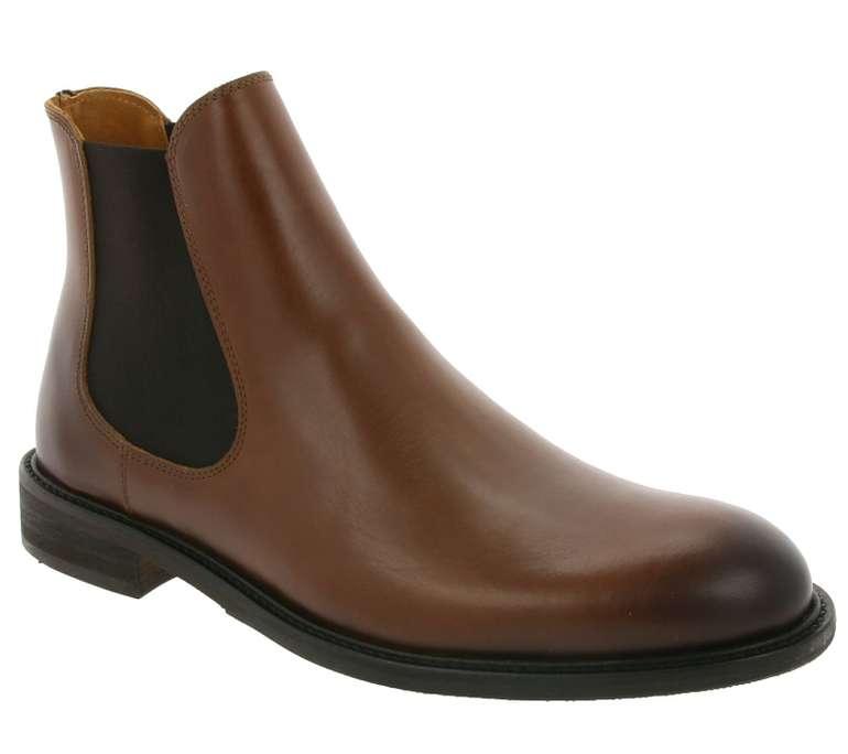 Selected Homme Echtleder Chelsea Herren Boots für 59,99€ inkl. VSK (statt 80€)