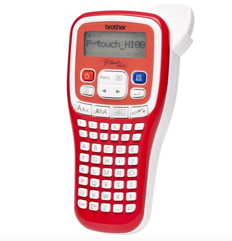 Brother P-touch PT-H100R Beschriftungsgerät ab 12,60€ inkl. Prime Versand (statt 22€)