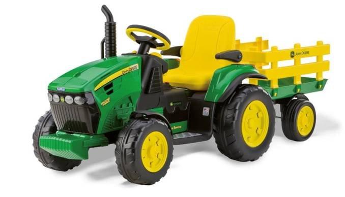 Peg Perego Traktor John Deere Ground Force 12V für 259€ (Vergleich: 298€)