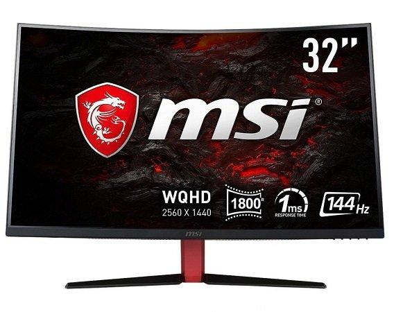 """MSI Optix AG32CQ-8015 - 32"""" WQHD Monitor Curved für 449€ inkl. VSK"""