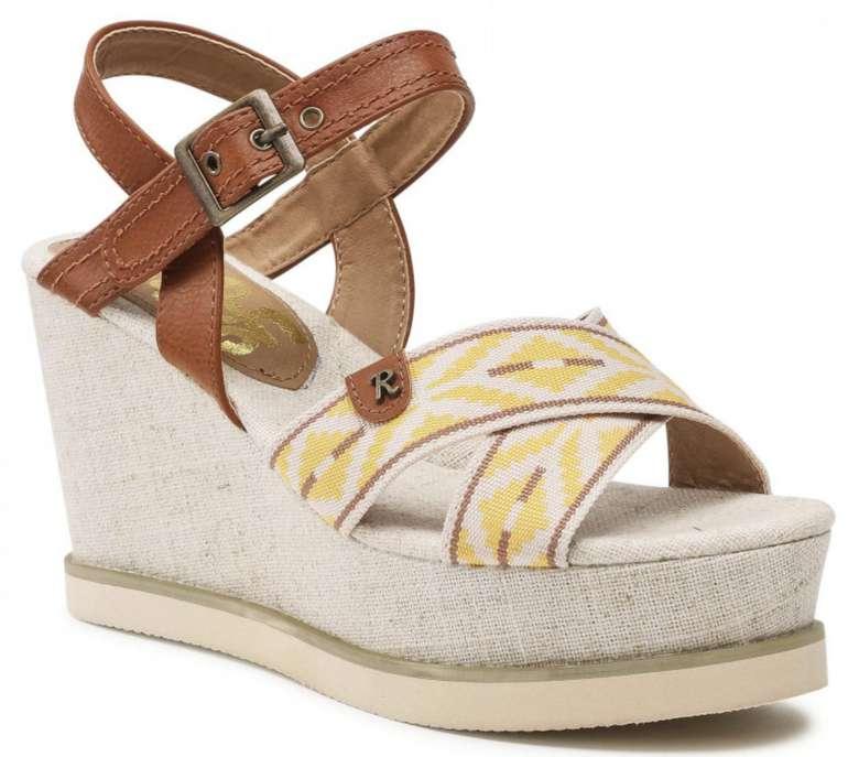 Refresh Damen Sandalen in Gelbtönen für 17,50€inkl. Versand (statt 30€)