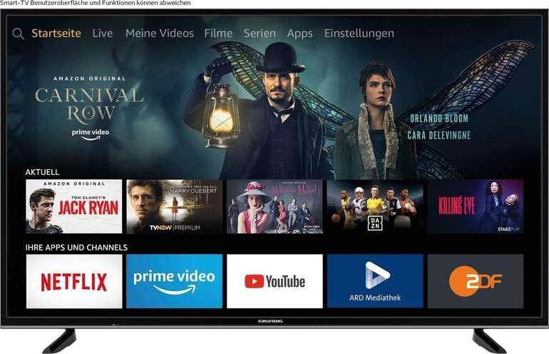 Grundig 43 VLX 7020 - 43 Zoll 4K Ultra HD Smart-TV für 199€ (statt 277€) - Ausstellungsstücke