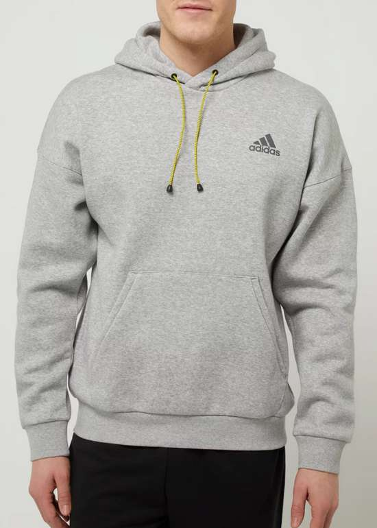 Adidas Performance Hoodie mit Logo in Grau für 29,99€ inkl. Versand (statt 48€)