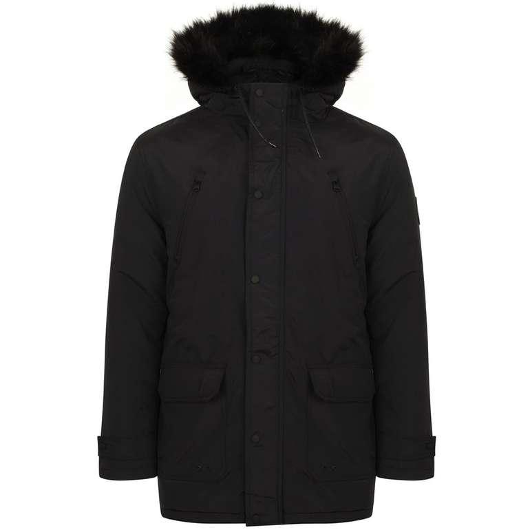 Neue Farben! Tokyo Laundry Lenart Fur Trim Hooded Parka Jacket für 28,94€ inkl. VSK