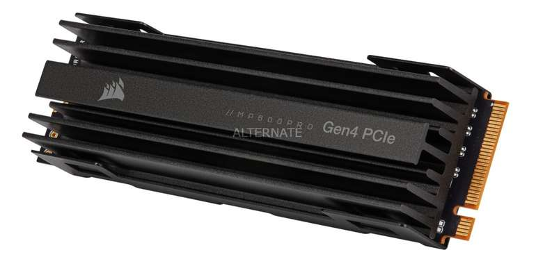 Corsair MP600 PRO mit 1 TB SSD (PCIe 4.0 x4, NVMe, M.2 2280) für 161,89€ inkl. Versand (statt 186€)