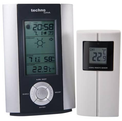 TechnoLine WS6710 – Funkwetterstation mit Aussen Sensor für 19,99€ inkl. Versand