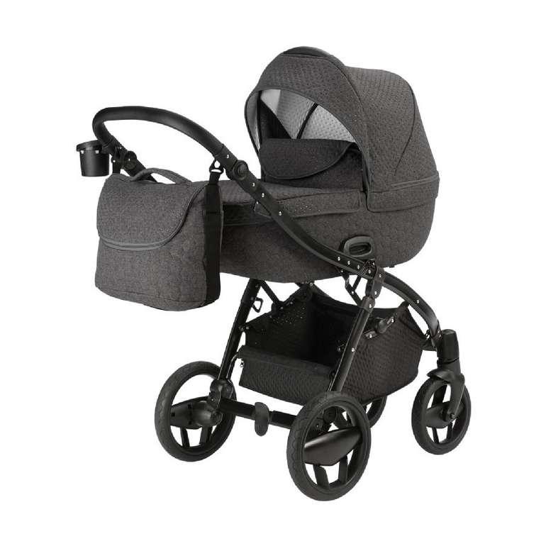 Knorr-baby Kombikinderwagen Piquetto in grau für 440,67€ (statt 540€)