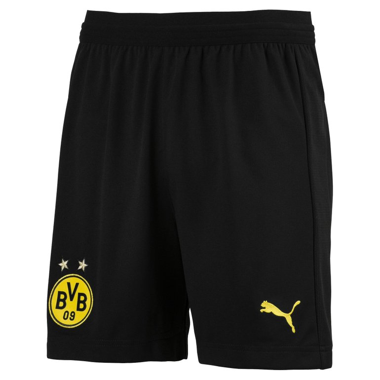 Top! Puma BVB Borussia Dortmund Kinder Heim Shorts 18/19 für 7,77€ inkl. VSK