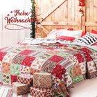 Bedsure Tagesdecken Weihnachten (2 Größen, 3 Motive) ab 10,50€ inklusive Versand