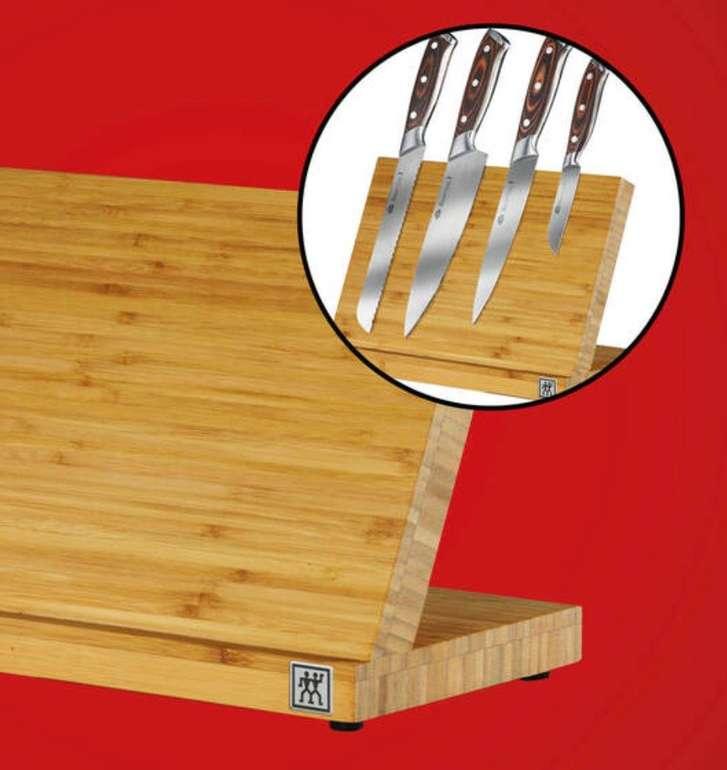 Bofrost Küchenartikel Sale mit bis zu 50% Rabatt, z.B. Zwilling magnetischer Messerblock für 29,25€ (statt 49€)