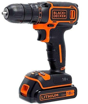 Black & Decker BDGDC18KA Akkubohrschrauber für 42,99€ (Statt 70€)